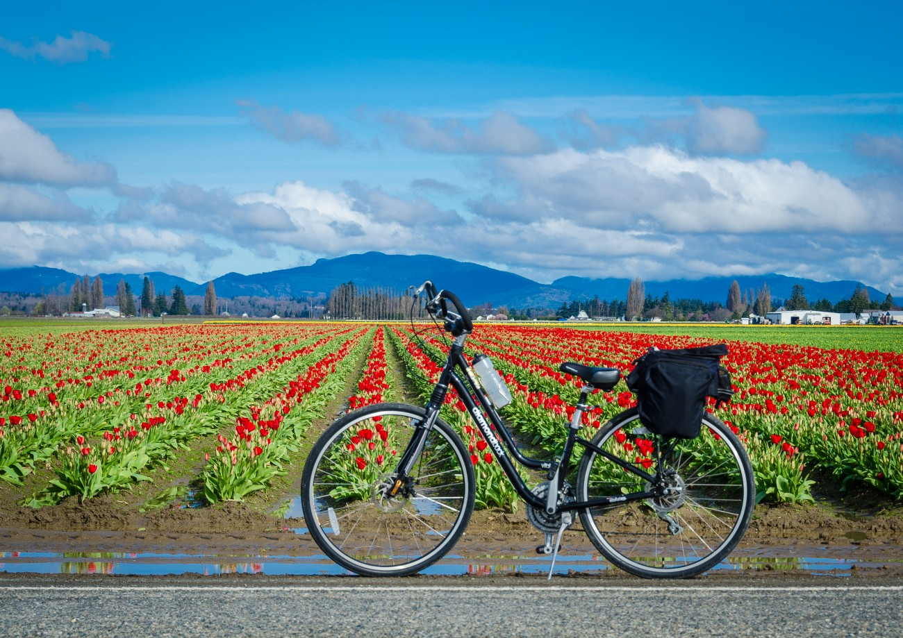 biking hiking skagit valley